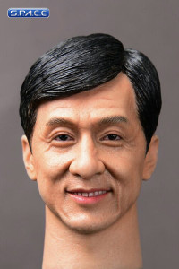 1/6 Scale Jackie International Kung Fu Star Head Sculpt