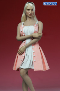 1/6 Scale Fit & Flare Dress (pink)