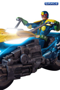 1/12 Judge Dredd with Lawmaster Bike Box Set Previews Exclusive (One:12 Collective)