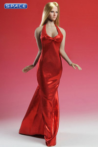 1/6 Scale red Elegant Dress