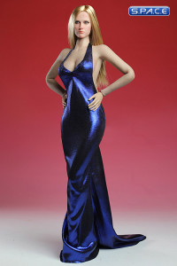 1/6 Scale blue Elegant Dress