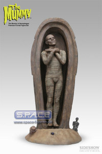 1/4 Scale The Mummy & Sarcophagus Figure Set