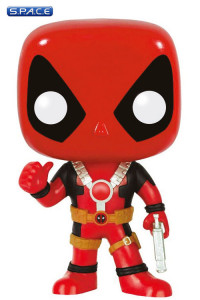 Deadpool Thumb Up Pop! Vinyl Bobble-Head #112 (Marvel)
