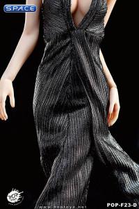 1/6 Scale silver Monroe Dress Set