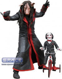 Jigsaw Killer with Doll from Saw - Pig Version (Cult Classics Series 5)