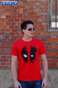 Deadpool Splash Head T-Shirt red (Marvel)