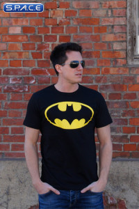 Batman Logo T-Shirt black (DC Comics)