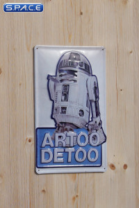 Artoo Detoo Tin Plate (Star Wars)