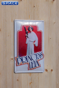 Princess Leia Tin Plate (Star Wars)