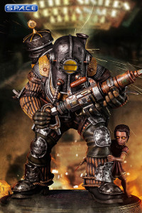 1/4 Scale Big Daddy Rosie Statue (Bioshock)