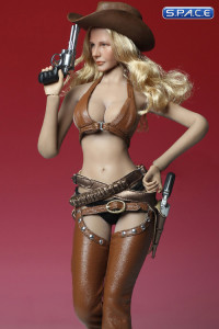 1/6 Scale brown Sexy Cowgirl Clothing Set