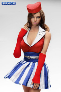 1/6 Scale red U.S.O. Cosplay Clothing Set