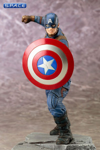 1/10 Scale Captain America ARTFX+ Statue (Captain America: Civil War)
