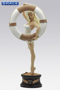 Vicki Riviera Summer Pin-Up Statue by Olivier Vatine