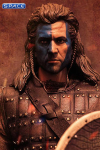 1/6 Scale Scottish Highlander William Head - warpaint Version
