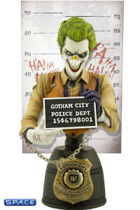 The Joker Mugshot Bust (DC Comics)