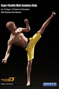 1/6 Scale Seamless Asian Male Body with Pants M32 (Super-Flexible)
