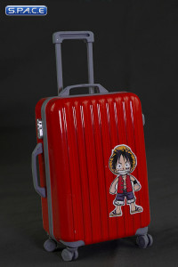 1/6 Scale red Travel Trolley draw bar box 2.0