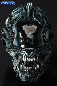 1:1 Alien Warrior Life-Size Head Blue Edition (Aliens)
