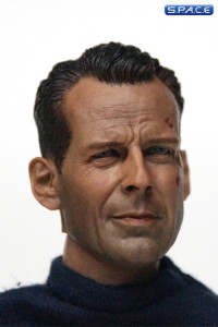 1/6 Scale Bruce Willis with Hair - damaged Version