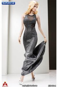 1/6 Scale silver Dress Set