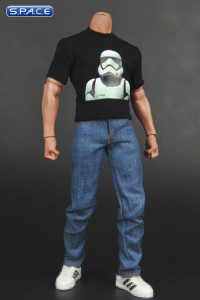 1/6 Scale Stormtrooper T-Shirt and Jeans Set