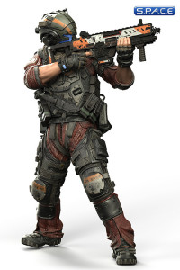 Pilot Jack Cooper from Titanfall 2 (Color Tops Red Wave)