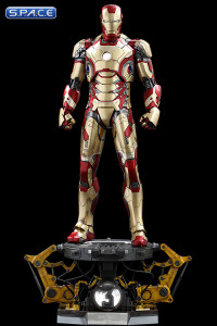 1/4 Scale Iron Man Mark XLII QS008 Deluxe Version (Iron Man 3)