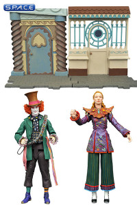 2er Komplettsatz: Alice Through the Looking Glass Serie 1 (Alice Through the Looking Glass)
