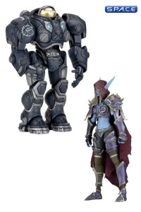 Set of 2: Raynor & Sylvana (Heroes of the Storm Serie 3)