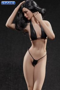 1/6 Scale Seamless Female suntan Body removable feet / medium breast / headless (Super-Flexible)