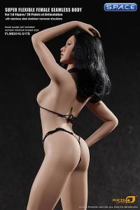 1/6 Scale Seamless Female suntan Body removable feet / medium breast / headless (Super-Flexible)