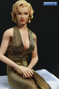 1/6 Scale Marilyn in Gold Dress (Gentlemen Prefer Blondes)