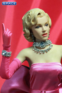 1/6 Scale Marilyn in Pink Dress (Gentlemen Prefer Blondes)