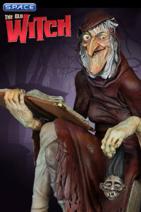 The Old Witch Maquette (EC Comics)