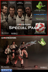 1/6 Scale Ghostbusters Special Pack Bundle of 4 (Ghostbusters)