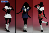 1/6 Scale Used Highshool Outfit blue