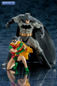 1/10 Scale Batman & Robin ARTFX+ Statues 2-Pack (DC Comics)