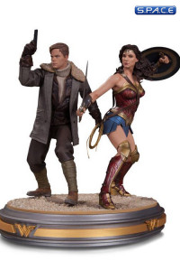 1/6 Scale Wonder Woman and Steve Trevor Statue (Wonder Woman)