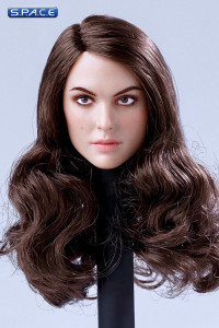 1/6 Scale European / American Female Head Sculpt (brunette hair)