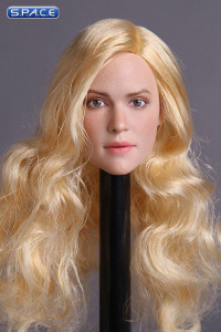 1/6 Scale European / American Female Head Sculpt (blonde hair)