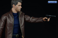 1/6 Scale Agent of Leather Suit Set