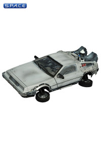1:15 DeLorean Frozen Hover Time Machine (Back to the Future II)