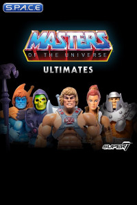 Complete Set of 5: MOTU Ultimates (Masters of the Universe Ultimates)
