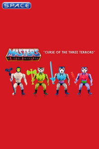 Complete Set of 4: Curse of the three Terrors (Masters of the Universe Ultimates)