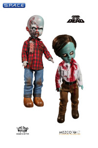2er Set: Flyboy & Plaid Shirt Zombie from Dawn of the Dead (Living Dead Dolls)