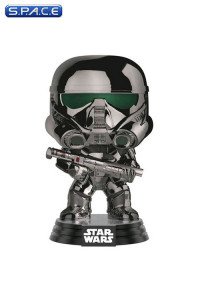 Chromed Imperial Death Trooper Pop! Vinyl Bobble-Head #154 (Rogue One: A Star Wars Story)