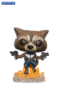 Rocket Raccoon Pop! #201 Vinyl Figure (Guardians of the Galaxy Vol. 2)