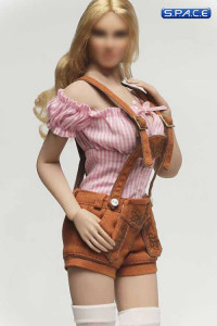 1/6 Scale tan shorts Cosplay Clothing Set