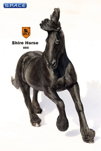 1/6 Scale grey Shire Horse